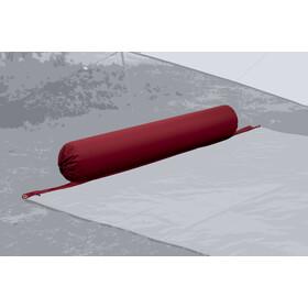 Bent XL Lounger Plain Almohada, rojo